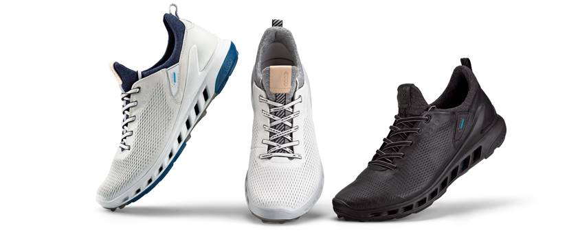 NATURAL MOTION MEETS WATERPROOF BREATHABILITY AS ECCO® GOLF UNVEILS BIOM® COOL PRO